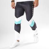 /achat-pantalons-joggings/sinners-attire-pantalon-jogging-avec-bandes-retro-noir-blanc-vert-162664.html