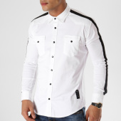 /achat-chemises-manches-longues/uniplay-chemise-manches-longues-avec-bandes-sh-01-blanc-162786.html