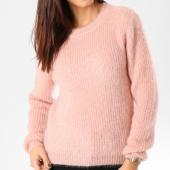 /achat-pulls/vero-moda-pull-femme-glassy-gris-rose-162714.html