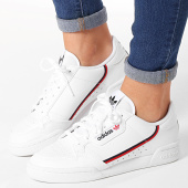 /achat-baskets-basses/adidas-baskets-femme-continental-80-f99787-footwear-white-scarlet-core-navy-162834.html