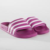 /achat-claquettes-sandales/adidas-claquettes-adilette-femme-cg6539-violet-blanc-162840.html