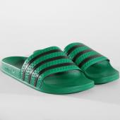 /achat-claquettes-sandales/adidas-claquettes-adilette-cm8443-vert-noir-162842.html