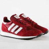 /achat-baskets-basses/adidas-baskets-forest-grove-cg5674-core-burgundy-clo-white-162887.html