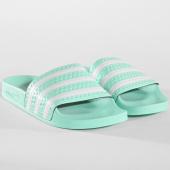 /achat-claquettes-sandales/adidas-claquettes-adilette-femme-cg6538-vert-blanc-162898.html