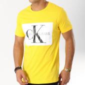 /achat-t-shirts/calvin-klein-tee-shirt-monogram-box-logo-7843-jaune-blanc-162922.html