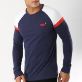 /achat-t-shirts-manches-longues/superdry-tee-shirt-manches-longues-orange-label-engd-baseball-bleu-marine-blanc-orange-162983.html