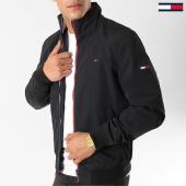 /achat-vestes/tommy-hilfiger-jeans-veste-zippee-casual-5423-noir-162967.html
