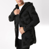 /achat-cardigans-gilets/ikao-gilet-capuche-f271-gris-anthracite-camouflage-noir-163060.html