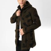 /achat-cardigans-gilets/ikao-gilet-capuche-f271-vert-kaki-camouflage-noir-163064.html