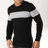 /achat-pulls/john-h-pull-jh020-noir-blanc-163017.html