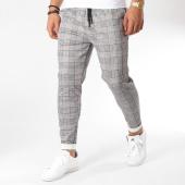 /achat-pantalons-carreaux/john-h-pantalon-carreaux-1258-noir-blanc-camel-163020.html