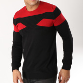 /achat-pulls/john-h-pull-38-noir-rouge-163036.html