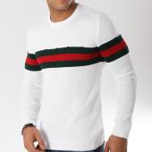 /achat-pulls/john-h-pull-jp-40-blanc-vert-rouge-163051.html