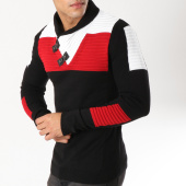 /achat-pulls/john-h-pull-col-amplified-jp-25-noir-blanc-rouge-163054.html