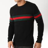 /achat-pulls/john-h-pull-jp-40-noir-vert-rouge-163055.html