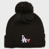 /achat-bonnets/new-era-bonnet-femme-los-angeles-dodgers-heart-11885545-noir-163139.html