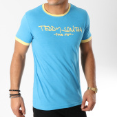 /achat-t-shirts/teddy-smith-tee-shirt-ticlass-3-bleu-clair-jaune-163098.html