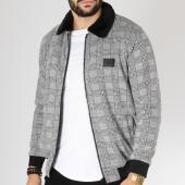 /achat-vestes/classic-series-veste-a-carreaux-f-89-gris-163163.html