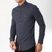/achat-chemises-manches-longues/classic-series-chemise-manches-longues-3373-bleu-marine-marron-163168.html