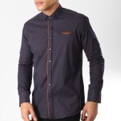 /achat-chemises-manches-longues/classic-series-chemise-manches-longues-3360-bleu-marine-marron-163171.html