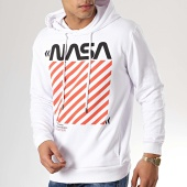 /achat-sweats-capuche/nasa-sweat-capuche-caution-blanc-163199.html