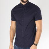 /achat-chemises-manches-longues/celio-chemise-manches-courtes-daslim-bleu-marine-163307.html
