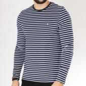 /achat-t-shirts-manches-longues/celio-tee-shirt-manches-longues-memarin-bleu-marine-blanc-163333.html