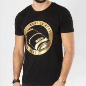 /achat-t-shirts/ohmondieusalva-tee-shirt-abat-la-hess-billet-noir-dore-163495.html