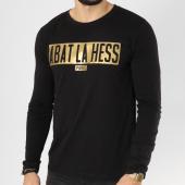 /achat-t-shirts-manches-longues/ohmondieusalva-tee-shirt-manches-longues-abat-la-hess-box-logo-noir-vert-163534.html
