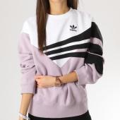 /achat-sweats-col-rond-crewneck/adidas-sweat-crewneck-femme-sweater-du8478-blanc-lilas-noir-163622.html