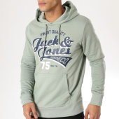 /achat-sweats-capuche/jack-and-jones-sweat-capuche-logo-vert-clair-163591.html