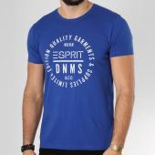/achat-t-shirts/esprit-tee-shirt-999ee2k800-bleu-roi-163691.html