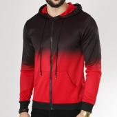 /achat-sweats-zippes-capuche/terance-kole-sweat-capuche-zippe-13199-noir-rouge-163647.html