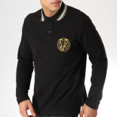 /achat-polos-manches-longues/versace-jeans-polo-manches-longues-b3gta7p2-noir-dore-163708.html