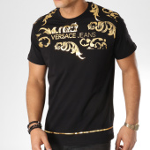 /achat-t-shirts/versace-jeans-tee-shirt-print-33-b3gta72i-noir-dore-163758.html