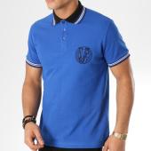 /achat-polos-manches-courtes/versace-jeans-polo-manches-courtes-b3gta7p1-bleu-roi-noir-163762.html