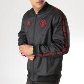/achat-vestes/adidas-veste-zippee-avec-bandes-manchester-united-dp2327-noir-163815.html