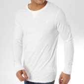 /achat-t-shirts-manches-longues/g-star-tee-shirt-manches-longues-korpaz-d11883-1141-blanc-163833.html