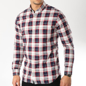 /achat-chemises-manches-longues/jack-and-jones-chemise-manches-longues-owlin-bleu-marine-ecru-rouge-163824.html