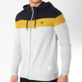 /achat-sweats-zippes-capuche/jack-and-jones-sweat-zippe-capuche-ottowa-gris-chine-jaune-bleu-marine-163910.html
