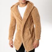 /achat-cardigans-gilets/uniplay-gilet-fourrure-avec-capuche-m002-camel-163904.html