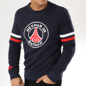/achat-sweats-col-rond-crewneck/psg-sweat-crewneck-team-batman-bleu-marine-163979.html