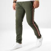 /achat-chinos/deeluxe-pantalon-chino-avec-bandes-bandit-vert-kaki-164105.html