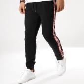 /achat-pantalons-joggings/deeluxe-pantalon-jogging-avec-bandes-sody-noir-164111.html