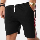 /achat-shorts-jogging/deeluxe-short-jogging-avec-bandes-puff-noir-164118.html