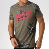 /achat-t-shirts/deeluxe-tee-shirt-stunning-vert-kaki-floral-164124.html