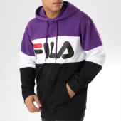 /achat-sweats-capuche/fila-sweat-capuche-blocked-687001-noir-blanc-violet-164082.html