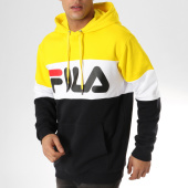 /achat-sweats-capuche/fila-sweat-capuche-blocked-687001-noir-blanc-jaune-164083.html