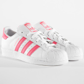 https://www.laboutiqueofficielle.com/achat-baskets-basses/adidas-baskets-femme-superstar-cg6608-footwear-white-real-pink-164269.html