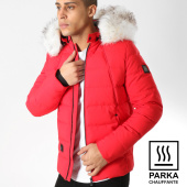 /achat-parkas/comme-des-loups-doudoune-chauffante-fourrure-moscou-rouge-blanc-164248.html